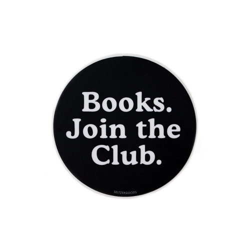 Book Club Sticker