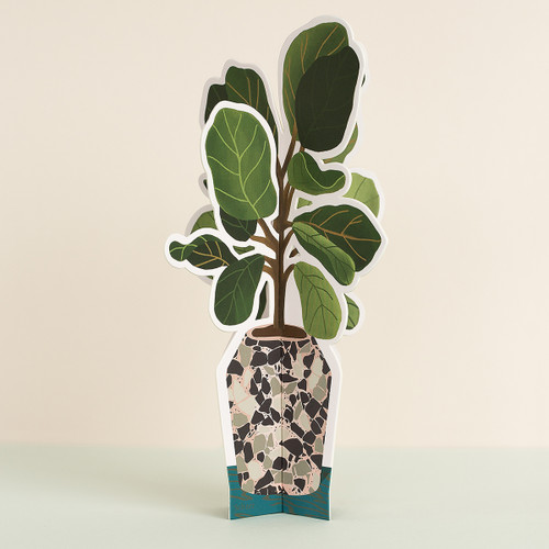 Fiddle Leaf Fig Paper Plant 1