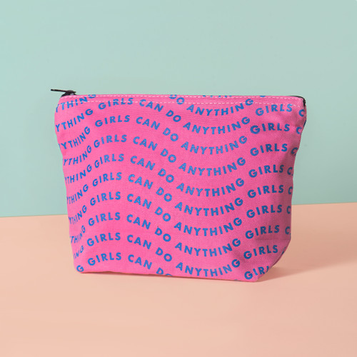 Girls Can Jumbo Pouch 1