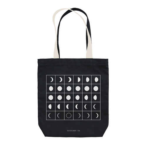Moon Phases Tote | Seltzer Goods