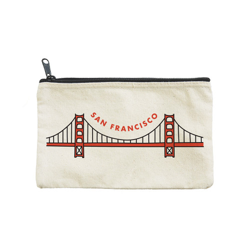 SF Bridge Icon Pouch