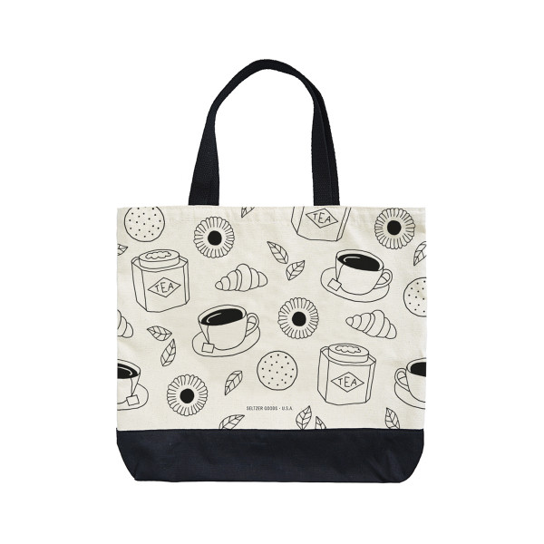 Tea Shopper Tote